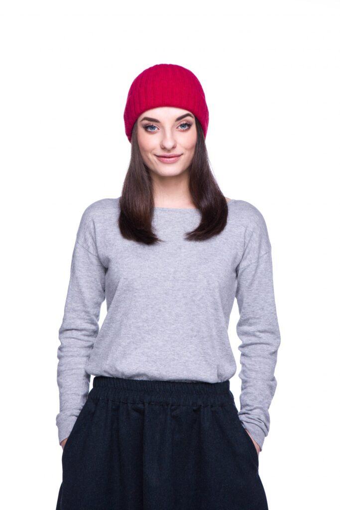 czapka z merynosa, polska produkcja Piumo